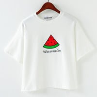 Watermelon Printed T-Shirt