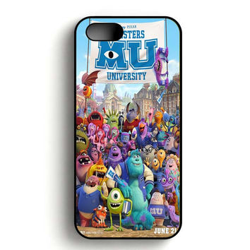 Monster Inc art Poster iPhone 5, iPhone 5s and iPhone 5S Gold case