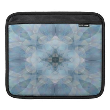 Soft Flowers Sleeve For iPads