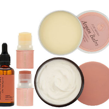 Josie Maran Argan Oil 5-Pc Luxury Body & Face Collection - A262125 — QVC.com