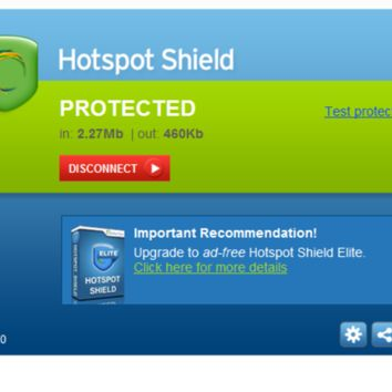Hotspot Shield 5.4.1 Full + Crack Keygen Download