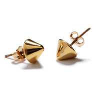 Vivienne Spike Stud in Yellow Gold