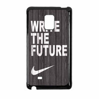 Nike Write Future Wood Samsung Galaxy Note Edge Case