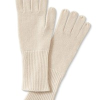 Banana Republic Todd & Duncan Plaited Cashmere Glove Size One Size - Blushing pink