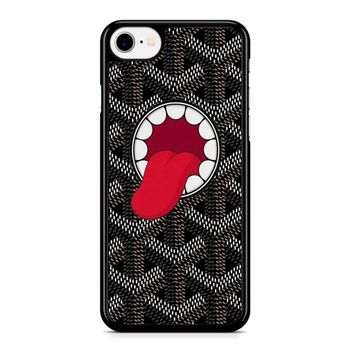 Goyard X Kaws Black iPhone 8 Case