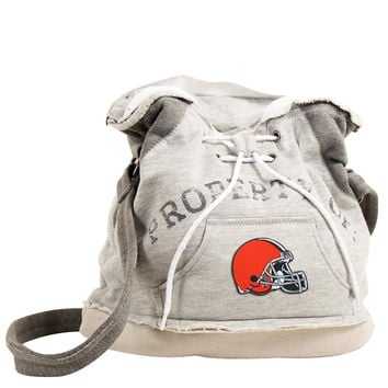 Cleveland Browns NFL Property Of Hoodie Duffel
