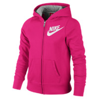 Nike HBR SB Full-Zip Girls' Hoodie Size Large (Pink)