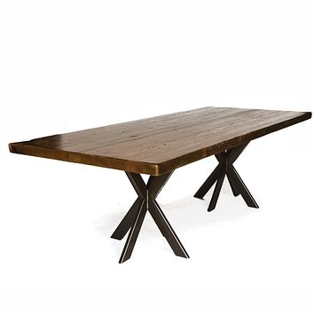 Urban Intersections Pedestal Dining Table