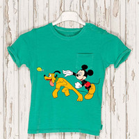 Mickey Mouse Iron on Patch Mickey Mouse embroidery applique add on Disney iron on patch Mickey Mouse iron on decals transfers sticker ikpa45