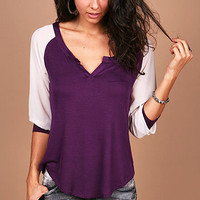 Chiffon Blend Top | Trendy Tops at Pink Ice