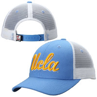 UCLA Bruins Zephyr Basic Trucker Snapback Adjustable Hat – True Blue