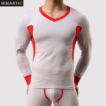 Hot Sale 1 Set Winter Warm Men Long Johns Soft Thermal Underwear Men Thermo Thicking Long Johns Underpants Legging masculina