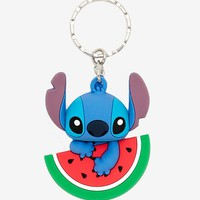 Disney Lilo & Stitch Watermelon Key Chain