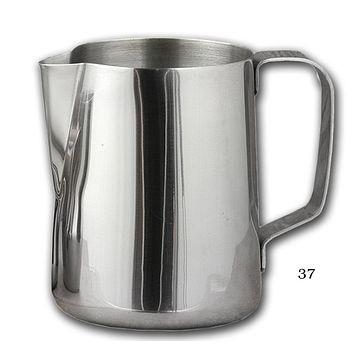 Quality Stainless Steel Frothing Pitchers Available in 12 oz to 50 oz