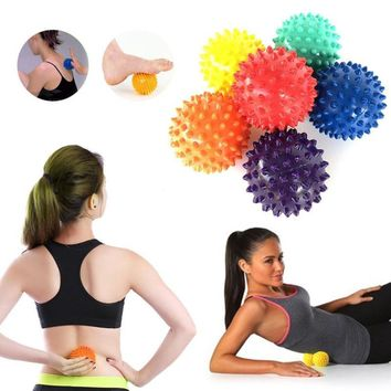 1PCS Spiky Massage Ball Trigger Point Hand Foot Pain Relief Muscle Relax Ball Sport Fitness Hand Foot Pain Relief Plantar