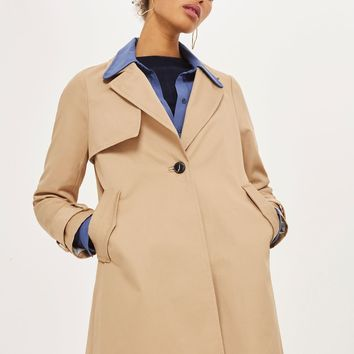 Girly A-Line Trench Coat | Topshop