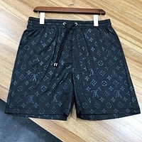 Louis Vuitton LV Trending Men Casual Sport Shorts Black