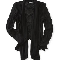 Long Sleeve Knit Cardigan - Aeropostale