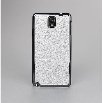 The White Leather Texture Skin-Sert Case for the Samsung Galaxy Note 3