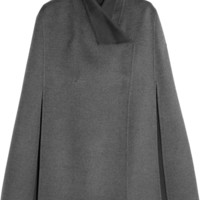 Joseph - Lina brushed wool and cashmere-blend cape