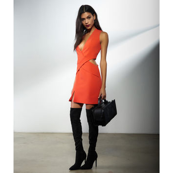 Deep Plunge Cut Out Dress by Kendall + Kylie