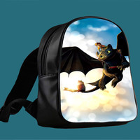 how to train your dragon for Backpack / Custom Bag / School Bag / Children Bag / Custom School Bag *