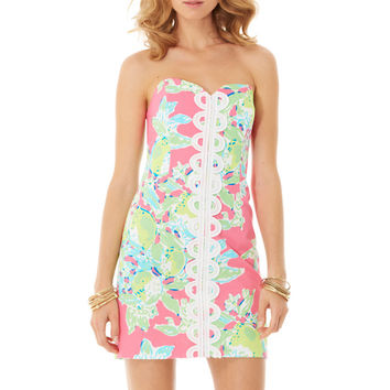 Angela Strapless Sweetheart Dress - Lilly Pulitzer