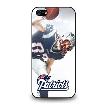 ROB GRONKOWSKI NEW ENGLAND PATRIOTS iPod Touch 6 iPhone 5 / 5S / SE Case