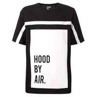 Hood By Air White Lines T-Shirt