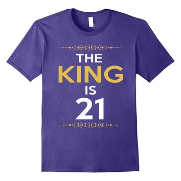 Kings is 21 Years Old -21st Birthday Gift Ideas for him/men