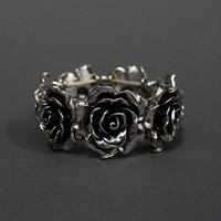 METAL ROSE BRACELET | ENTER THE VOID
