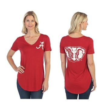 Alabama Crimson Tide Red Elephant Tee | BAMA Mascot Tee | Alabama Crimson Tide Mascot Tee