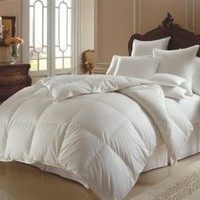 JR Home Super Soft White Down Duvet Cover Insert Alternative Comforter, Twin