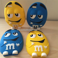 M&M iPhone 5 or 6 Soft Case - Multiple Colors