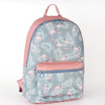 School Backpack trendy New Arrive Water Resistant Floral Cartoon Printing School Bag for Boys and Girls Lightweight Kids Schoolbag Backpack with Handle AT_54_4