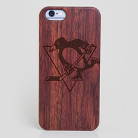 Pittsburgh Penguins iPhone 6 Case - All Wood Everything
