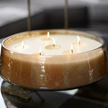 OVERSIZED LUSTER MULTIWICK CANDLE POT