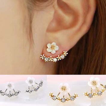 PEEKABOO FLOWER EARRINGS