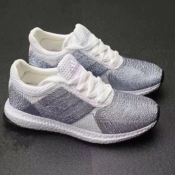 ICIKIJG Adidas' Women Running Crochet Sport Casual Shoes Sneakers