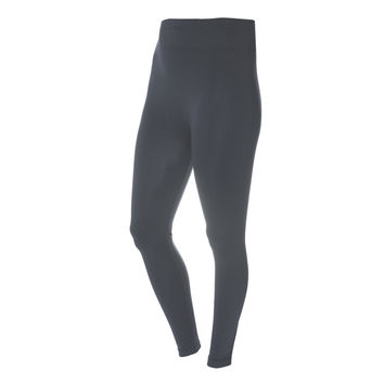 Opaque Full Length Leggings, Gray