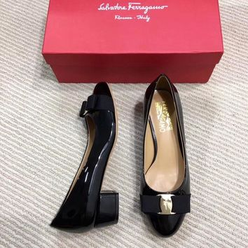 Salvatore Ferragamo Casual and casual bows flat shoes