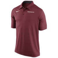 Nike Washington State Cougars Game Time Performance Polo - Crimson