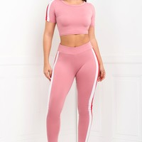 Fabienne Two Piece Set - Pink