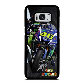MOTO GP ROSSI THE DOCTOR STYLE Samsung Galaxy S8 Case