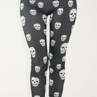 Rebel Skull Leggings - Vanity Kills