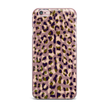 "Vasare Nar ""Leo Cheetah"" Animal Pattern iPhone Case"
