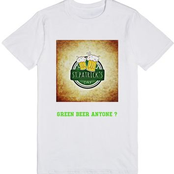 ST PATRICKS TEE BEER DESIGN