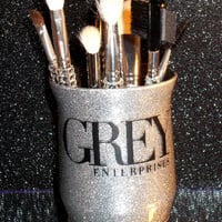 Fifty Shades of Grey Enterprises  Makeup Brush Holder - YOU CUSTOMIZE!