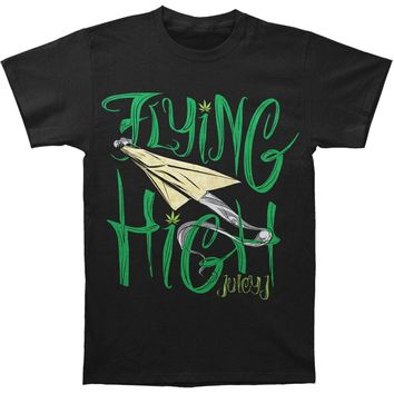 Juicy J Men's  Flying High Plane T-shirt Black