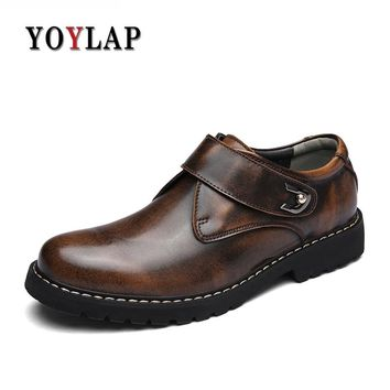 2018 Brand Winter Boots Men Genuine Leather Doc Dr Martin Boots Fashion Ankle Boots For Men Dr. Martens Boots Casual Shoes